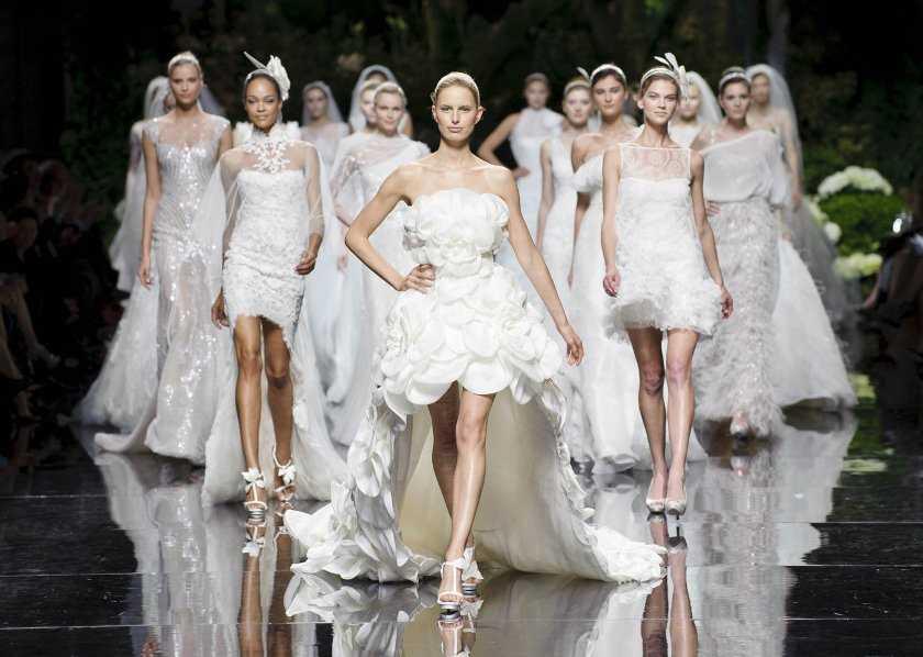 Самые красивые свадебные платья фото2