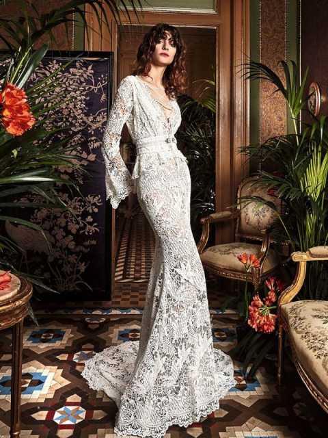 Самые красивые свадебные платья фото21