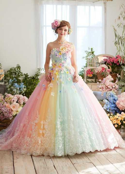 Самые красивые свадебные платья фото22