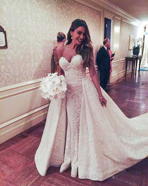 Самые красивые свадебные платья фото5