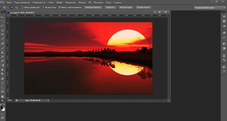 Как менять размеры изображений в фотошопе6