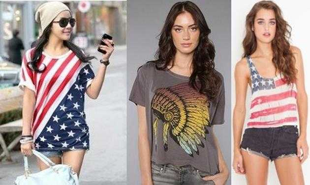 Американский стиль одежды подростков7