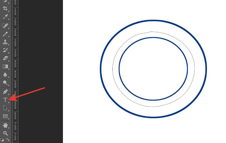 как сделать надпись по кругу в фотошопе13