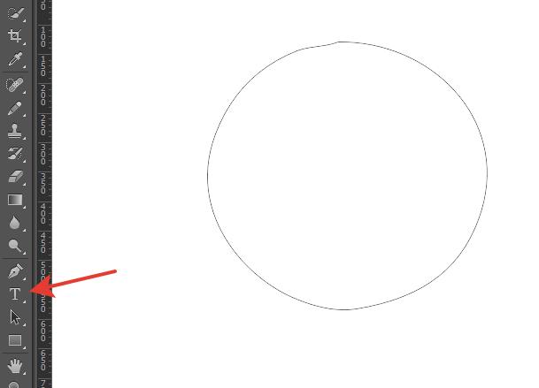 как сделать надпись по кругу в фотошопе21