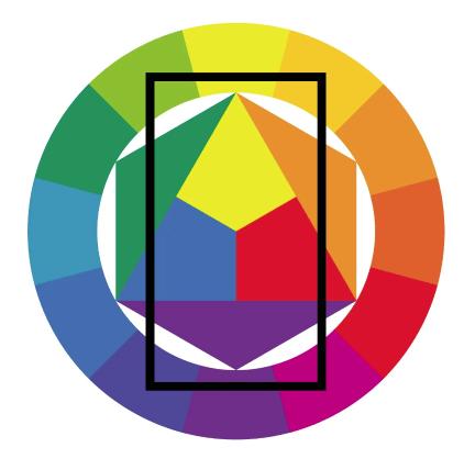 круг иттена и цветовые гармонии5