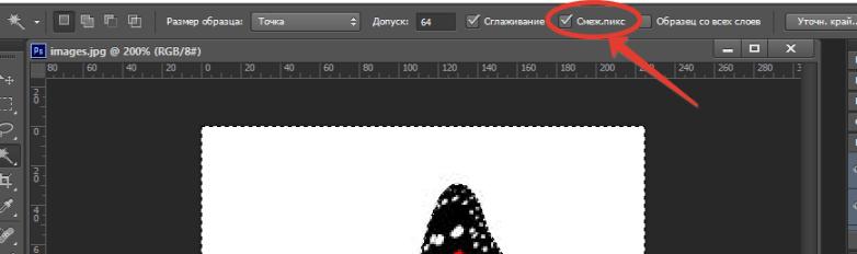 Как в фотошопе пользоваться волшебной палочкой7