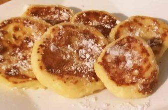 Сырники из творога на сковороде классический рецепт0