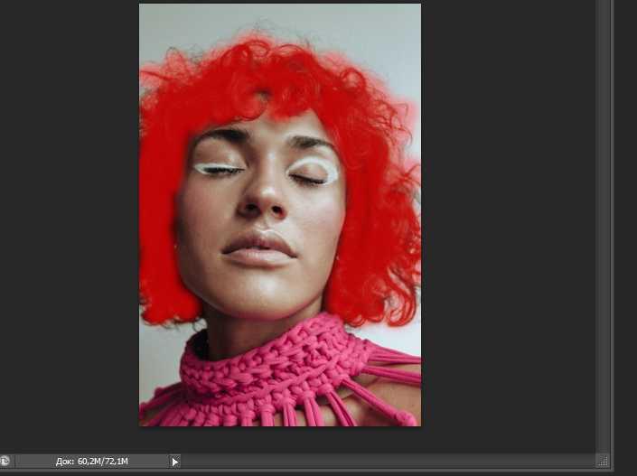 Как изменять цвет волос в фотошопе12