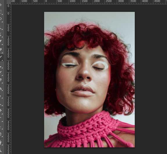 Как изменять цвет волос в фотошопе14