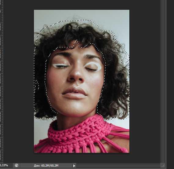 Как изменять цвет волос в фотошопе3