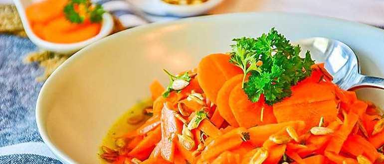 Салаты из сырой морковки
