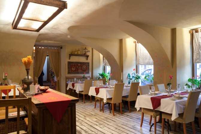 Самые лучшие рестораны Санкт-Петербурга8