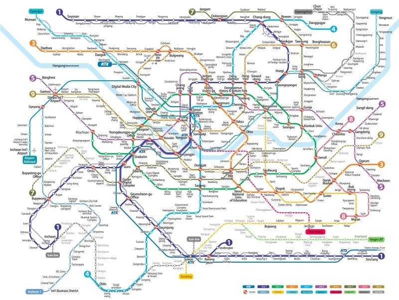 Самое большое метро в мире топ 10-10