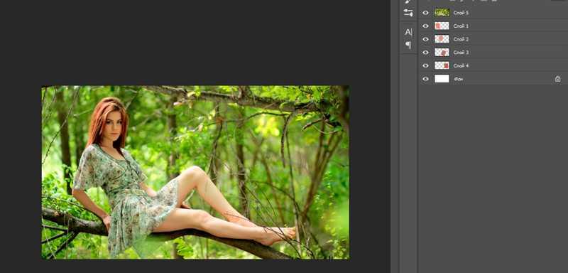 Как в фотошопе создать коллаж-16