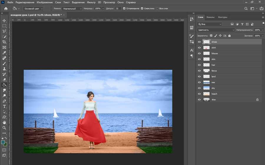 Как сделать черно белое фото в фотошопе цветным-15